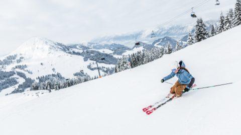 skifahrerin westendorf winter