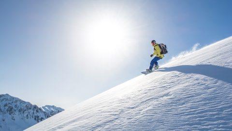 Snowboarden winter1