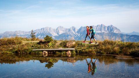 Wandern in den Kitzbueheler Alpen Brixental