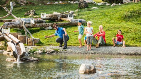 familienurlaub sommer filzalmsee in brixen im thale